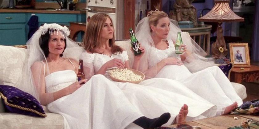 Which F R I E N D S Bride Are You The Lounge Db